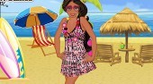 Princess Elena In Beach