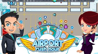 Airport Rush Hour | Free online game | Mahee.com