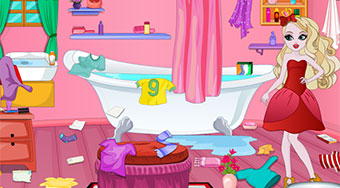 Apple White Messy Bathroom - el juego online | Mahee.es