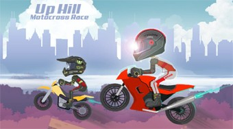 Play Free Up Hill Motocross Race Game - online game | Mahee.com