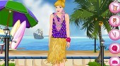 Cinderella Hawaiian Dress Up