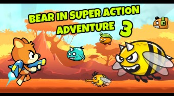 Bear in Super Action Adventure 3 | Free online game | Mahee.com