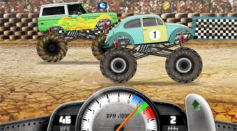 Monster Truck Street Race | Mahee.com