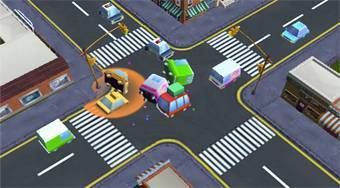 Traffic Chaos - online game | Mahee.com