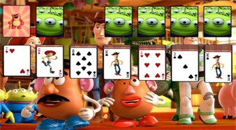 Solitaire Toy Story | Free online game | Mahee.com