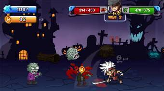 Zombie Invasion | Free online game | Mahee.com
