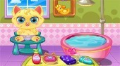 Play Pet Newborn Baby game online