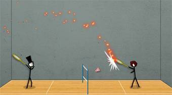 Stick Figure Badminton 3 - online game | Mahee.com
