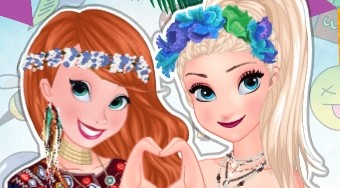 Anna and Elsa Summer Festivals | Mahee.es