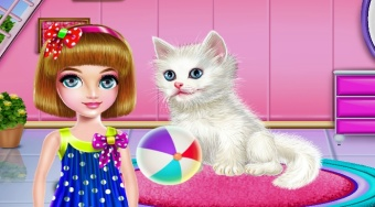 Kitty Care and Grooming - online game | Mahee.com