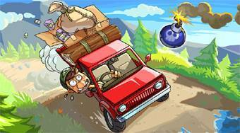 Hill Climb Twisted Transport - online game | Mahee.com