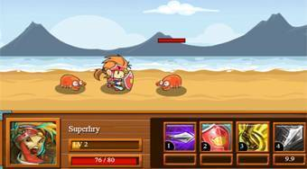 Rooster Warrior | Free online game | Mahee.com