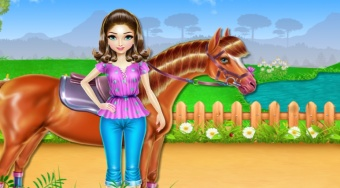Horse Care and Riding | El juego online gratis | Mahee.es