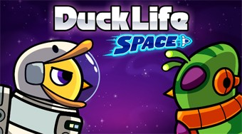 Duck Life 4: Space - online game | Mahee.com