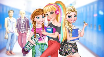 Disney Girls Back To School - Game | Mahee.com