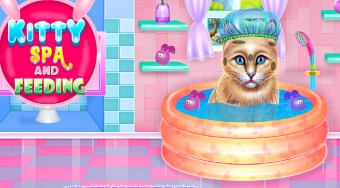 Kitty Spa and Feeding - online game | Mahee.com