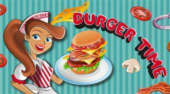 Burger Time - online game | Mahee.com