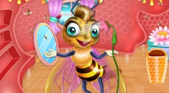 Bee Spa and Care | Free online game | Mahee.com