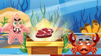 Sea Monsters Food Duel | Free online game | Mahee.com