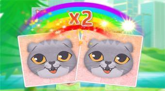 Kitten Match - online game | Mahee.com