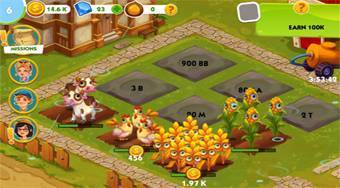 Little Farm Clicker - online game | Mahee.com