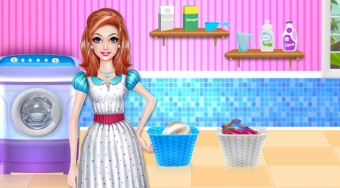 Mommy's Laundry Day - online game | Mahee.com