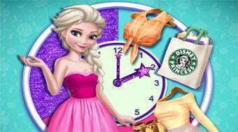 Elsa Round the Clock Fashion - Game | Mahee.com