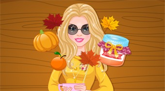 Barbies Cozy Fall Scents | Free online game | Mahee.com
