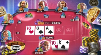 Poker World | Free online game | Mahee.com