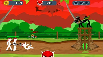 Stickman Army: The Resistance | Free online game | Mahee.com