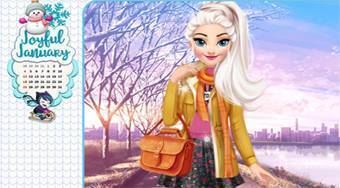 Year Round Fashionista: Elsa - Game | Mahee.com