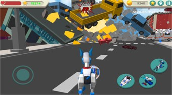 Robot Dog City Simulator | Mahee.es