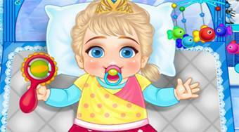 Frozen Baby Care | Free online game | Mahee.com