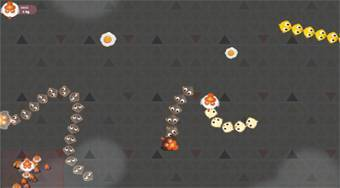 Angry Chickens - jeu en ligne | Mahee.fr