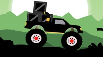 Monster Truck Forest Delivery | Free online game | Mahee.com