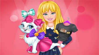 Barbie and Kitty Fashionistas - el juego online | Mahee.es