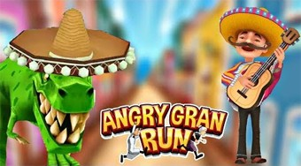 Angry Gran Run: Mexico - online game | Mahee.com