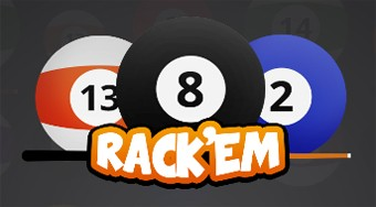Rack'Em 8 Ball Pool | Mahee.es