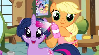 My Little Pony Hair Salon | Free online game | Mahee.com