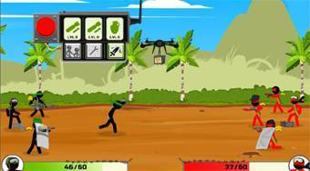 Stickman Army Team Battle | Free online game | Mahee.com