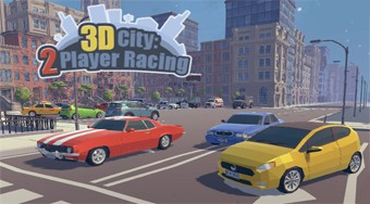3D City: 2 Player Racing - Le jeu | Mahee.fr