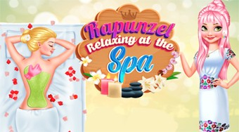 Rapunzel Relaxing at the Spa - Game | Mahee.com