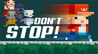 Don't Stop! | Free online game | Mahee.com