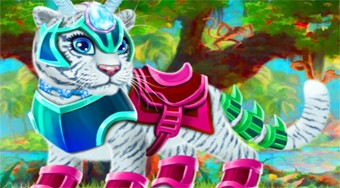 My Fairytale Tiger - online game | Mahee.com
