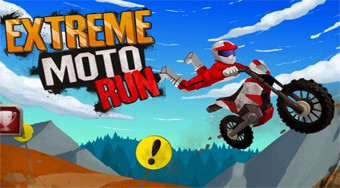Extreme Moto Run | Free online game | Mahee.com