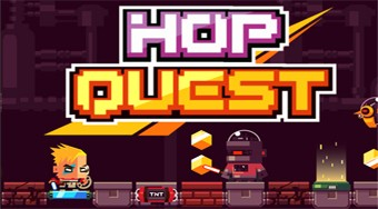 Hop Quest - online game | Mahee.com