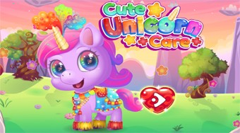Cute Unicorn Care - online game | Mahee.com