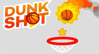 Dunk Shot | Free online game | Mahee.com