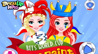 Bffs World Cup Face Paint | Mahee.com