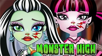 Monster High Nose Doctor | Free online game | Mahee.com